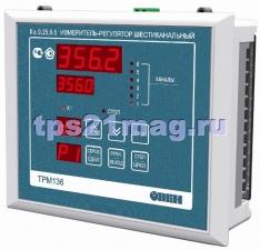 Терморегулятор ТРМ138 –Щ7.Р Измеритель-регулятор восьмиканальный