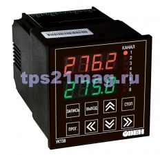 УКТ38-Щ4 Устройство контроля температуры восьмиканальное с аварийной сигнализацией